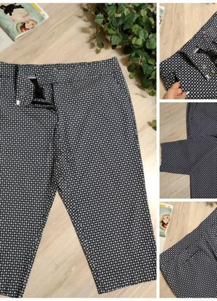 Отличные короткие брюки штаны капри бриджи стрейч