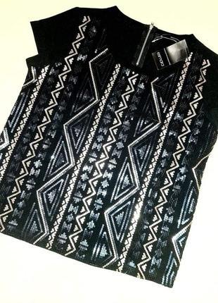 Женская блуза с паетками