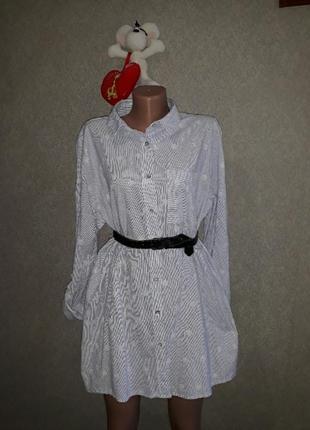 Платье рубашка l/xl