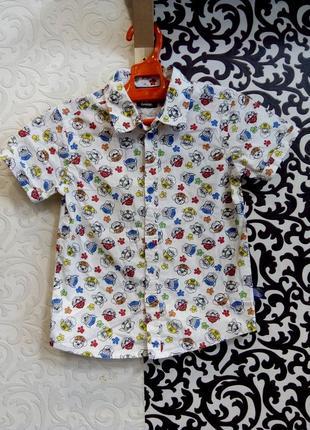 Фирменная рубашка на мальчика щенячий патруль