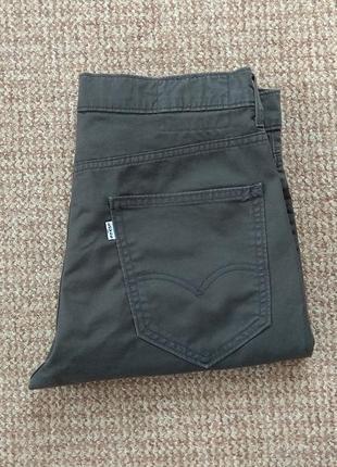 Levi's 511 slim fit hybrid trouser чиносы джинсы оригинал (w32 l32)