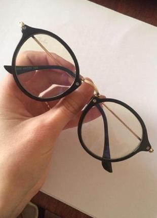 Имиджевые очки с антибликовым покрытием