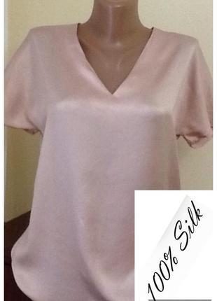Шелковая блуза от cos