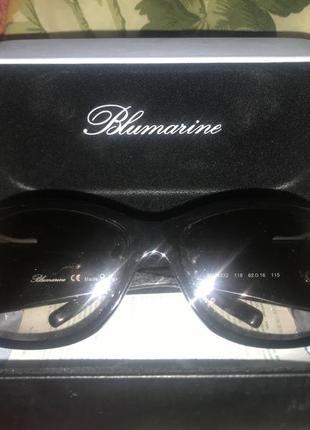 Шикарные женские очки от солнца бренда blumarine оригинал