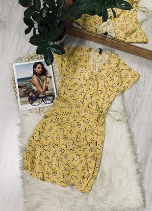 Плаття на запах в квітковий принт від h&m🌿