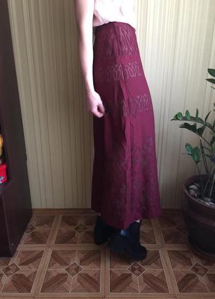 Юбка в пол, юбка миди