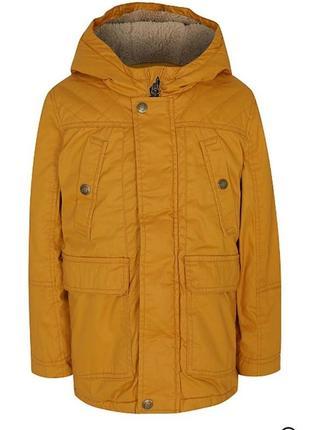 Фирменная курточка,куртка, парка для мальчика george, размер 2-3 г, 92-98