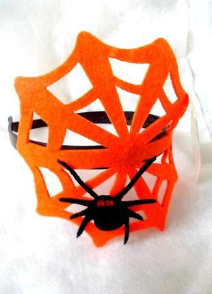 Распродажа sale обруч паук на паутине хэллоуин – стильный аксессуар