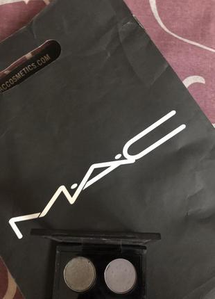 Тени mac 2 шт с палеткой