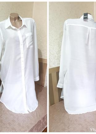 Удлиненная рубашка. george large.
