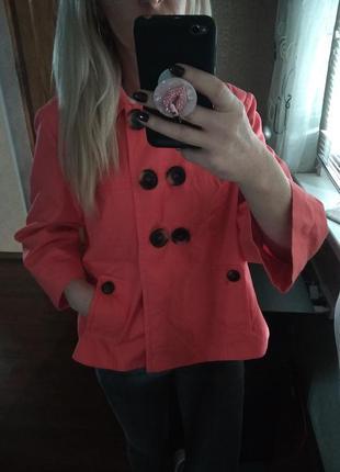 Фирменный абалденный цвет жакет пиджак  блейзер-m l1 фото