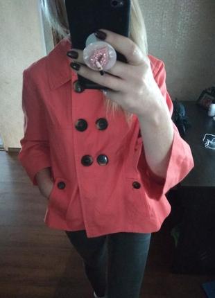 Фирменный абалденный цвет жакет пиджак  блейзер-m l2 фото