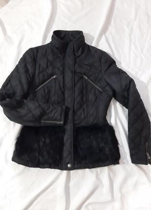 Куртка, ветровка с меховыми карманами