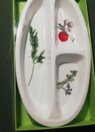 Менажница салатник фарфор royal porcelain