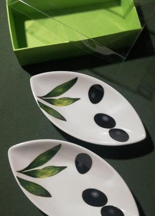 Фарфоровый набор для оливок royal porcelain