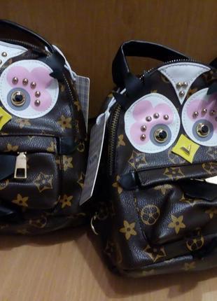 """Рюкзак-сумка """"совушка"""""""