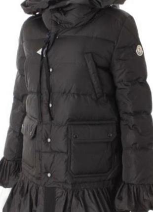 Куртка moncler р.s