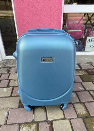 Пластиковый чемодан fly ,валіза