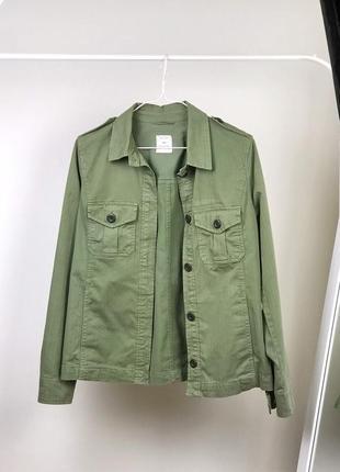 Хлопковая куртка-рубашка