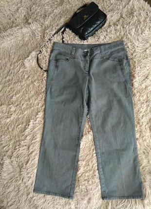 Скидочка 💃фирменные штаны джынсы высокая посадка-54 р xxxl