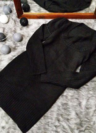 Распродажа зимы!! базовое платье свитер