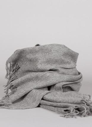 Шерстяной шарф палантин moss copenhagen # 100% шерсть
