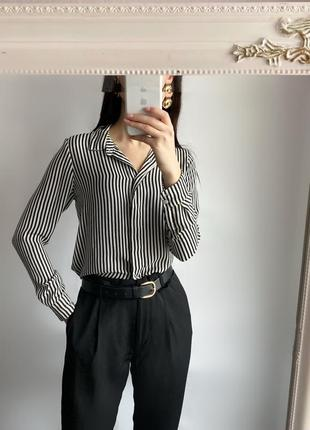 Идеальная рубашка в полоску h&m