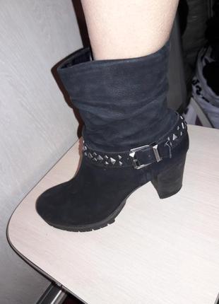 Ботинки утепленные.