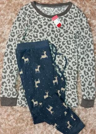 Теплая пижама или костюм для дома primark, анг 10-12 (евро 38-40)