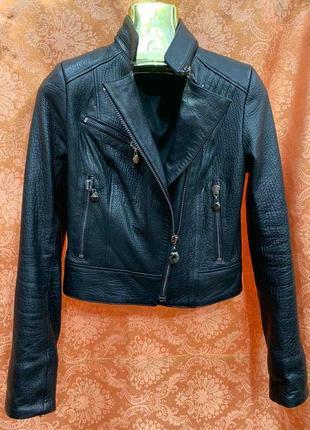 Кожаная куртка, косуха кожаная, коротка кожаная куртка