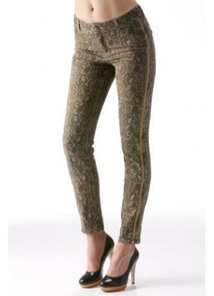 Брендовые женские коттоновые джинсы брюки mos mosh турция этикетка