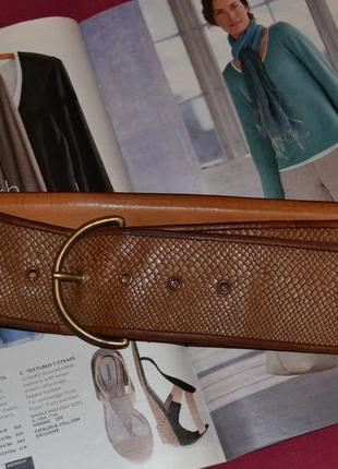 Ремень женский кожаный laura biagiotti