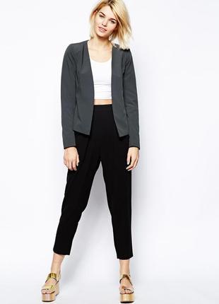 Брендовый серый пиджак жакет блейзер envii этикетка