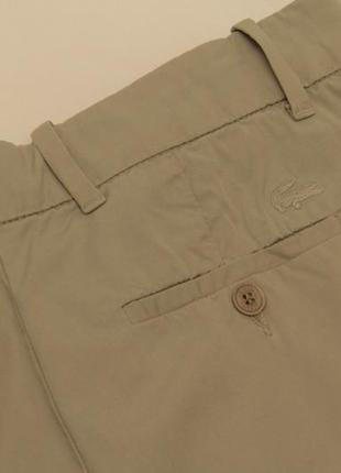 Lacoste uk 8 us 26 m брюки женские из хлопка свежие коллекции