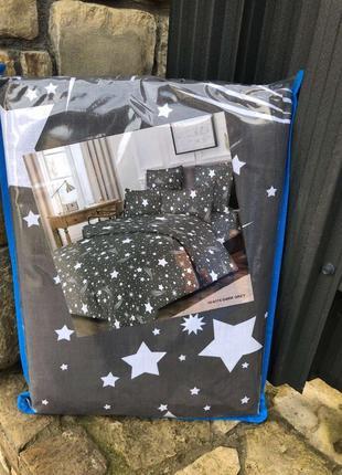Комплект постельного белья полуторный бязь-люкс