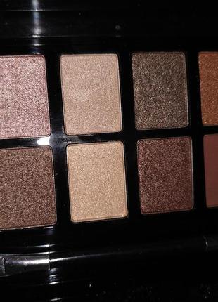 12цветов! 2в1 матовые и перламутровые! набор теней для век! палетка для глаз! макияж!