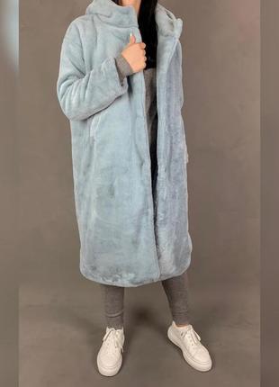 Шуба/пальто из эко меха