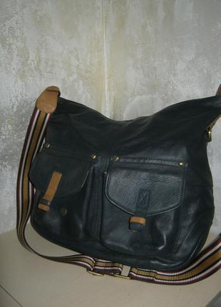 Jonles брендовая большая кожаная сумка кроссбоди на длинном плечевом ремне кожа