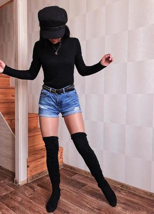 Шорты topshop джинсовые
