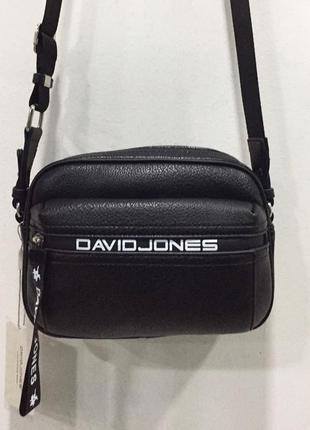 Маленькая чёрная сумка david jones