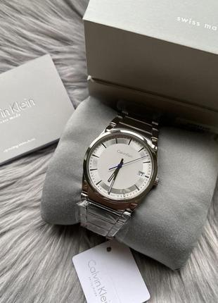 Швейцарские мужские часы calvin klein, step men's watch оригинал!