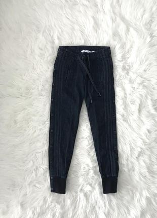 Стильные джинсы джогеры s/m adidas оригинал
