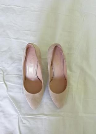 Замшевые туфли-лодочки vetiver