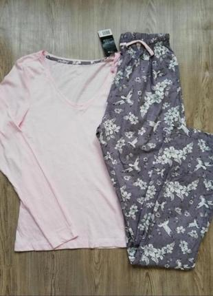 Прекрасная пижама реглан и штаны esmara xs