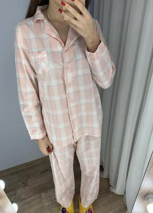 Пижама в клетку
