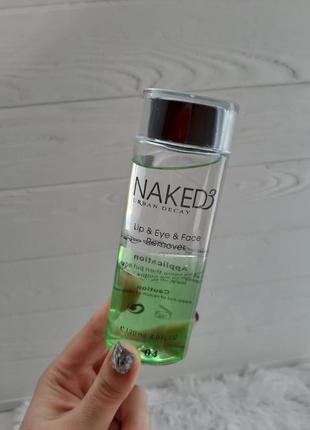 Тоник для снятия макияжа naked3