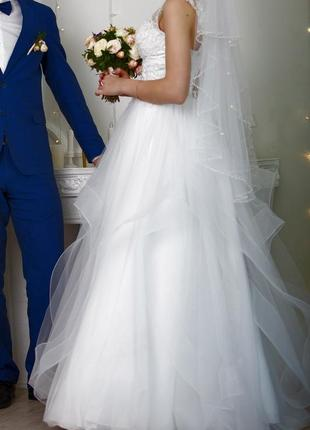 Свадебное платье 2019 года размер 42-50