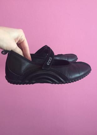 Мокасини туфли ecco comfort 36 размер слипони кожа оригинал