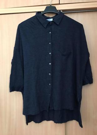 Allude100% лен!!! синяя классная рубашка max mara brunello cucinelli fabiana filippi p
