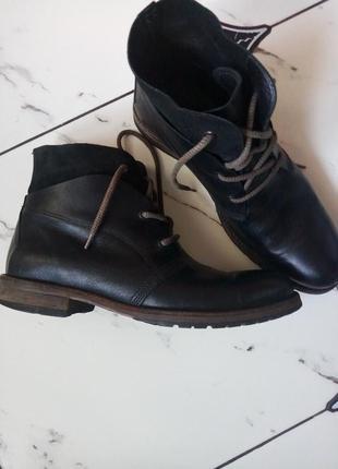 Добротные стильные качественные ботинки броги  унисекс